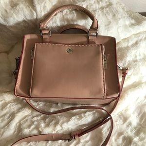 Zara Trafaluc blush pink bowling bag great bag